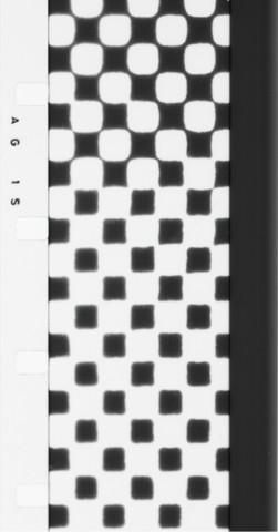 George Maciunas, Artype (Fluxflim n°20), 1966, Film 16 mm, noir et blanc, silencieux, 2 min. 24 sec. Achat 1994 (Photogrammes), © George Maciunas / Adagp, Paris