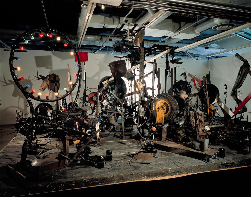 L'Enfer un petit début, 1984 © Jean Tinguely© Centre Pompidou, MNAM-CCI / Philippe Migeat, Service des Collections© SABAM Belgium 2018