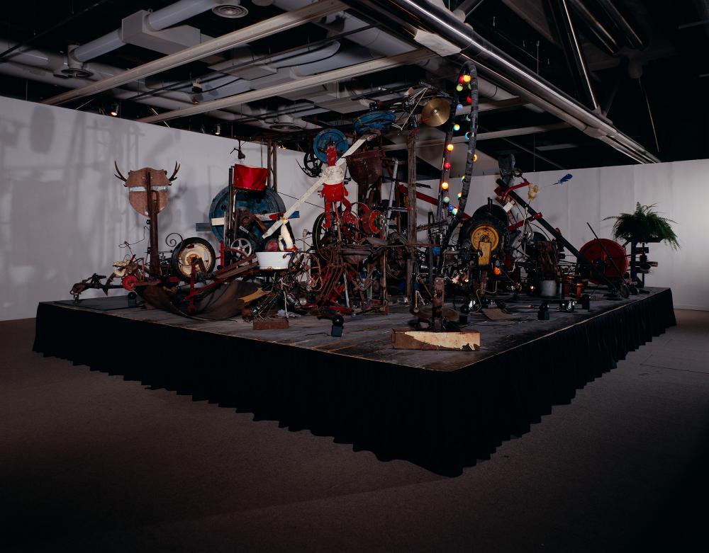 L'Enfer un petit début, 1984© Jean Tinguely© Centre Pompidou, MNAM-CCI / Philippe Migeat, Service des Collections© SABAM Belgium 2018