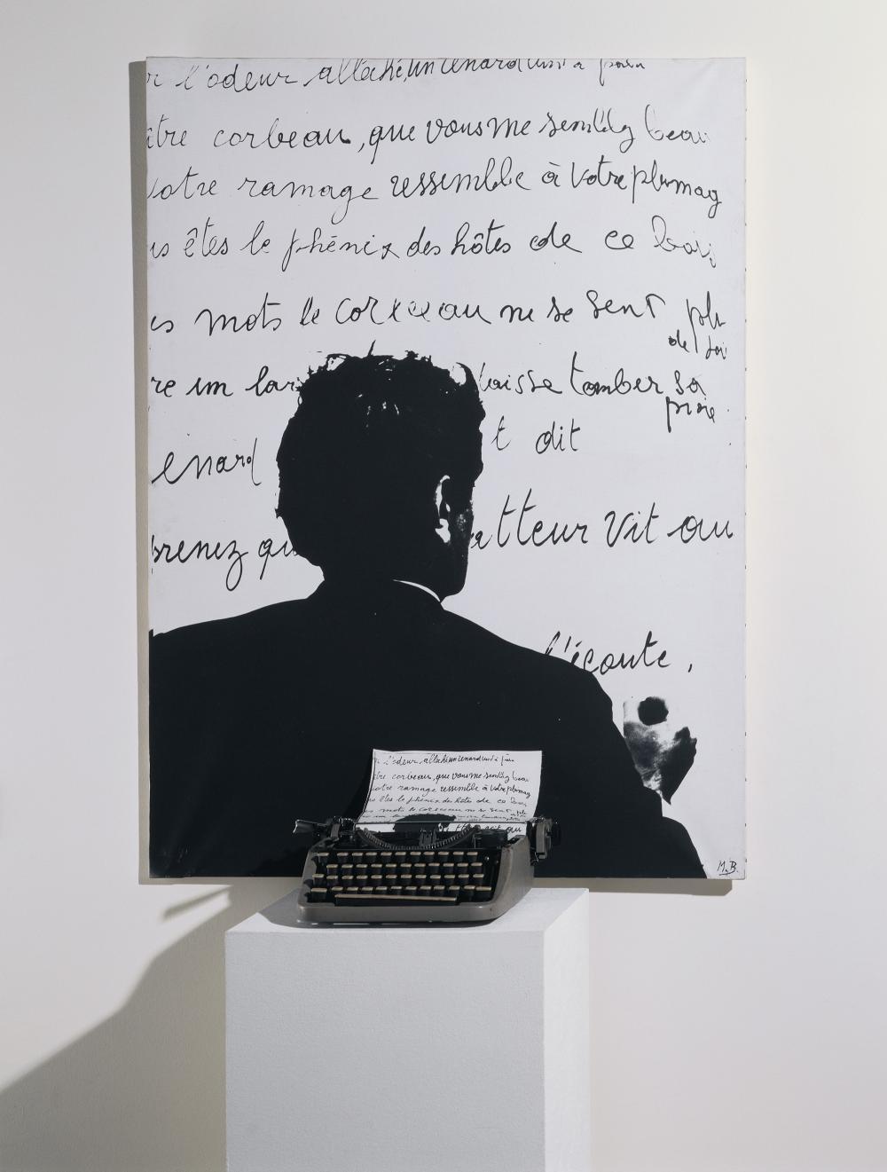 Le corbeau et le renard, 1968© Marcel Broodthaers© Centre Pompidou, MNAM-CCI/Service de la documentation  photographique du MNAM/Dist. RMN-GP© The Estate of Marcel Broodthaers / Adagp, Paris© SABAM Belgium 2018.