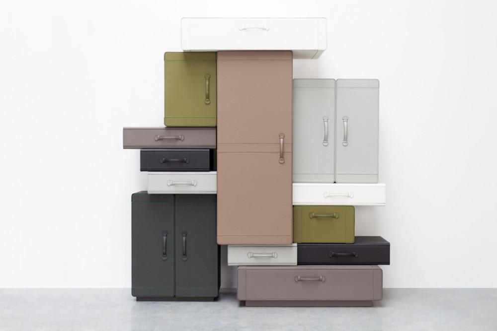 © Wall of Suitcases © Maarten De Ceulaer © Teri Romkey