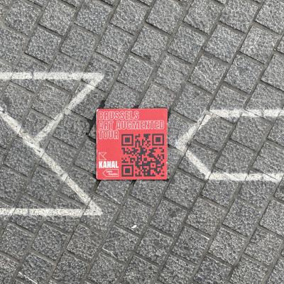 Brussels Art Augmented Tour - KANAL app